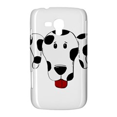 Dalmation cartoon head Samsung Galaxy Duos I8262 Hardshell Case