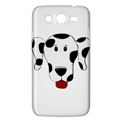 Dalmation cartoon head Samsung Galaxy Mega 5.8 I9152 Hardshell Case