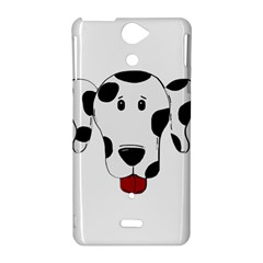 Dalmation cartoon head Sony Xperia V