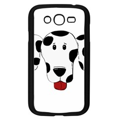 Dalmation cartoon head Samsung Galaxy Grand DUOS I9082 Case (Black)