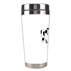 Dalmation cartoon head Stainless Steel Travel Tumblers