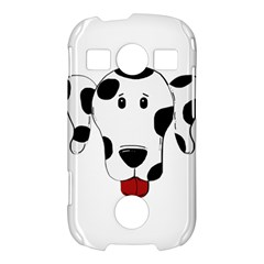 Dalmation cartoon head Samsung Galaxy S7710 Xcover 2 Hardshell Case