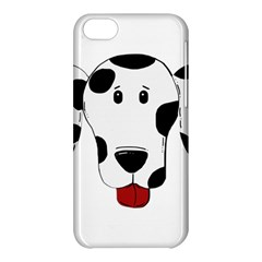 Dalmation cartoon head Apple iPhone 5C Hardshell Case