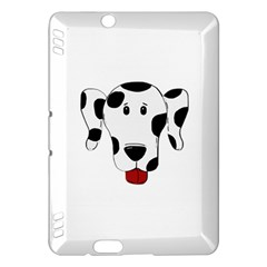 Dalmation cartoon head Kindle Fire HDX Hardshell Case