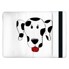 Dalmation cartoon head Samsung Galaxy Tab Pro 12.2  Flip Case