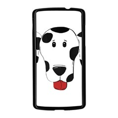 Dalmation cartoon head Nexus 5 Case (Black)