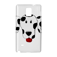 Dalmation cartoon head Samsung Galaxy Note 4 Hardshell Case