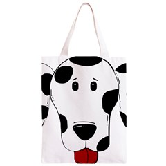 Dalmation cartoon head Classic Light Tote Bag