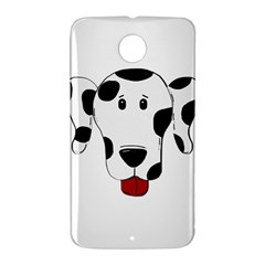 Dalmation cartoon head Nexus 6 Case (White)