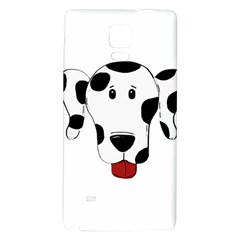 Dalmation cartoon head Galaxy Note 4 Back Case