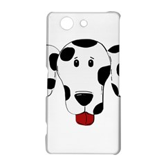 Dalmation cartoon head Sony Xperia Z3 Compact