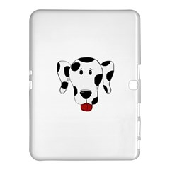 Dalmation cartoon head Samsung Galaxy Tab 4 (10.1 ) Hardshell Case
