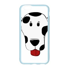Dalmation cartoon head Apple Seamless iPhone 6/6S Case (Color)