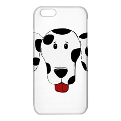 Dalmation cartoon head iPhone 6/6S TPU Case