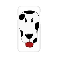 Dalmation cartoon head Apple Seamless iPhone 6/6S Case (Transparent)