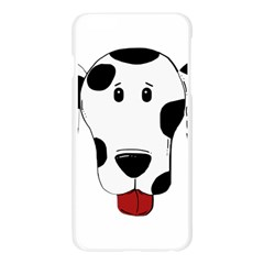Dalmation cartoon head Apple Seamless iPhone 6 Plus/6S Plus Case (Transparent)