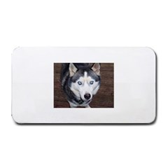 Siberian Husky Blue Eyed Medium Bar Mats