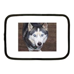 Siberian Husky Blue Eyed Netbook Case (Medium)