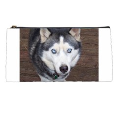 Siberian Husky Blue Eyed Pencil Cases