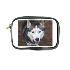 Siberian Husky Blue Eyed Coin Purse