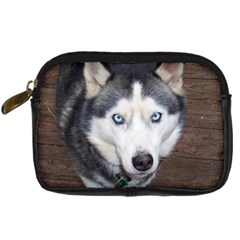 Siberian Husky Blue Eyed Digital Camera Cases