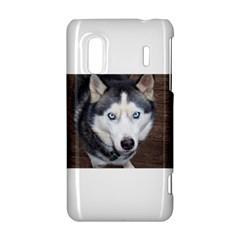 Siberian Husky Blue Eyed HTC Evo Design 4G/ Hero S Hardshell Case