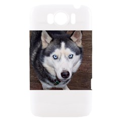 Siberian Husky Blue Eyed HTC Sensation XL Hardshell Case