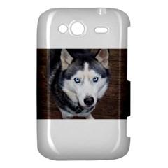 Siberian Husky Blue Eyed HTC Wildfire S A510e Hardshell Case