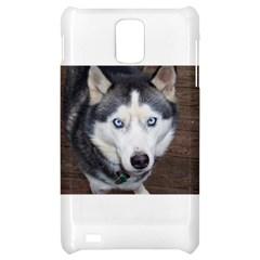 Siberian Husky Blue Eyed Samsung Infuse 4G Hardshell Case