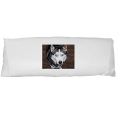 Siberian Husky Blue Eyed Body Pillow Case (Dakimakura)