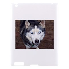 Siberian Husky Blue Eyed Apple iPad 3/4 Hardshell Case