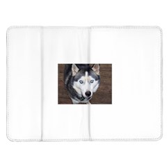 Siberian Husky Blue Eyed Kindle Fire (1st Gen) Flip Case