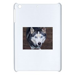 Siberian Husky Blue Eyed Apple iPad Mini Hardshell Case