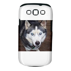 Siberian Husky Blue Eyed Samsung Galaxy S III Classic Hardshell Case (PC+Silicone)