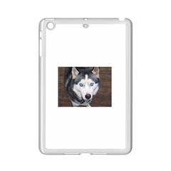 Siberian Husky Blue Eyed iPad Mini 2 Enamel Coated Cases