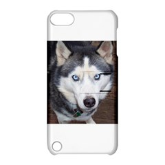 Siberian Husky Blue Eyed Apple iPod Touch 5 Hardshell Case with Stand