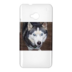 Siberian Husky Blue Eyed HTC One M7 Hardshell Case