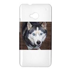 Siberian Husky Blue Eyed HTC One M7 Hardshell Case