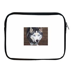 Siberian Husky Blue Eyed Apple iPad 2/3/4 Zipper Cases