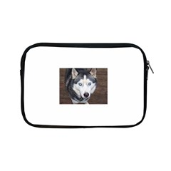 Siberian Husky Blue Eyed Apple iPad Mini Zipper Cases
