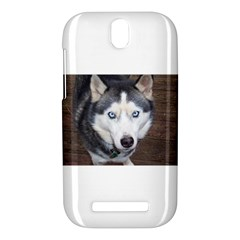 Siberian Husky Blue Eyed HTC One SV Hardshell Case