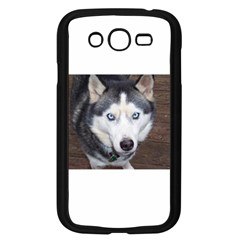 Siberian Husky Blue Eyed Samsung Galaxy Grand DUOS I9082 Case (Black)