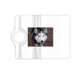 Siberian Husky Blue Eyed Kindle Fire HD (2013) Flip 360 Case