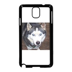 Siberian Husky Blue Eyed Samsung Galaxy Note 3 Neo Hardshell Case (Black)
