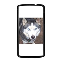 Siberian Husky Blue Eyed Nexus 5 Case (Black)