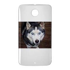 Siberian Husky Blue Eyed Nexus 6 Case (White)