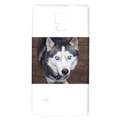 Siberian Husky Blue Eyed Galaxy Note 4 Back Case