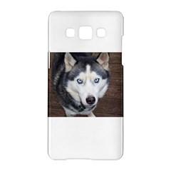 Siberian Husky Blue Eyed Samsung Galaxy A5 Hardshell Case