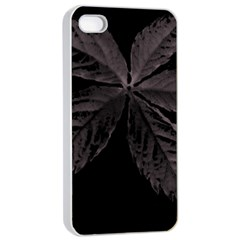 Pink Xray Flower Apple iPhone 4/4s Seamless Case (White)