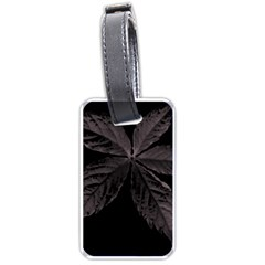 Pink Xray Flower Luggage Tags (One Side)
